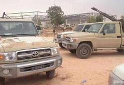 Son dakika | Libya ordusu Hamza Askeri Kampını Hafterden geri aldı