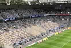 Seyircisiz maçta 15 bin taraftar