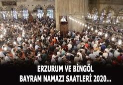 2020 bayram namazı vakitleri Erzurum ve Bingölde bayram namazı saat kaçta kılınacak