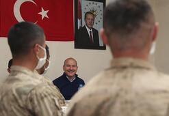 İçişleri Bakanı Soylu asker ailelerinin bayramını kutladı