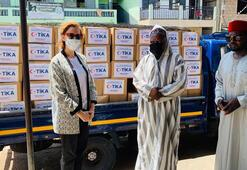 TİKAdan Ganadaki ihtiyaç sahiplerine gıda yardımı