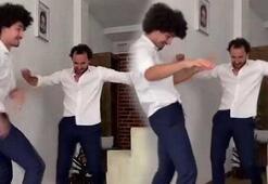 Fırat Çelik yeğeniyle bayram dansı yaptı