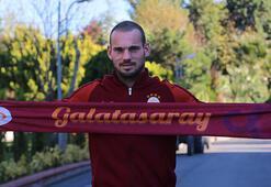 Galatasaraydan Wesley Sneijder sürprizi