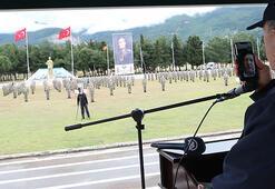 Son dakika Cumhurbaşkanı Erdoğan, Bakan Akarla telefonla görüşerek Mehmetçikin bayramını kutladı