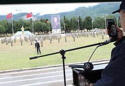 Cumhurbaşkanı Erdoğan, Mehmetçikin bayramını kutladı