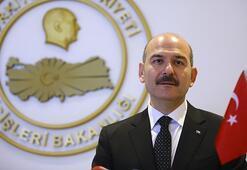 İçişleri Bakanı Soylu, Suriyede görevli özel harekat polisleriyle bayramlaştı