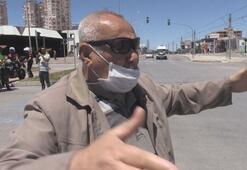 Ekmek almaya çıkan yaşlı adam, polis kovalamacasının ortasında kaldı