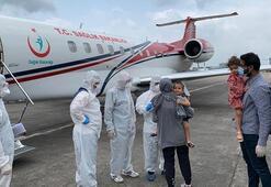 Bangladeşte corona virüse yakalanan aile Türkiyeye getirildi
