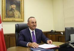 Dışişleri Bakanı Çavuşoğlu, mevkidaşlarıyla bayramlaştı