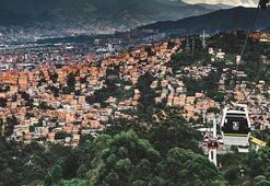 Pablo Escobarın kenti Medellin