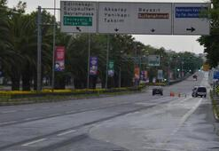 İstanbulda bayramın 2. gününde de meydanlar ve caddeler boş kaldı
