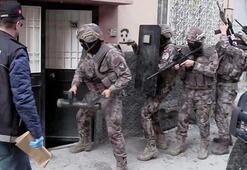 Gaziantepte özel harekatlı torbacı operasyonu: 17 gözaltı