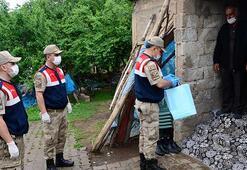 Vefa ekipleri ihtiyaç sahiplerine yardımlarını sürdürüyor
