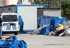 Kayseride bir inşaat bekçisi kulübede ölü bulundu