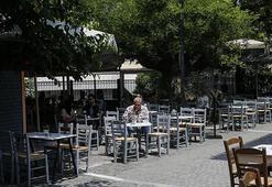 Yunanistanda corona virüste son durum Kafe ve restoranlar açıldı