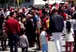 Avcılar'da müziği duyan çocuklar sokağa indi: Sosyal mesafe kalmadı