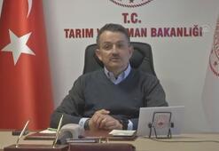 Tarım ve Orman Bakanı Pakdemirli, personeliyle bayramlaştı