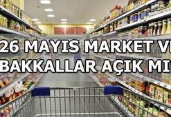 Bugün market ve bakkallar açık mı Bakkal ve marketler 26 Mayıs (bugün) hizmet veriyor mu BİM, A101, ŞOK, Carrefour, Migros çalışma saatleri