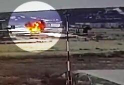 Son dakika Rusyada askeri helikopter kazası kameralara böyle yansıdı
