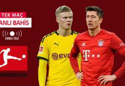 Dortmund - Bayern maçı canlı bahis heyecanı Misli.comda