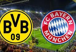 Geri sayım başladı Dortmund-Bayern Münih maçı bu akşam saat kaçta hangi kanaldan canlı olarak yayınlanacak
