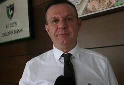 Ali Çetin: Liglerin oynanmasını istiyoruz