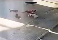 İzmirde bir kadın canını hiçe sayıp saldırıya uğrayan köpeğini böyle kurtardı