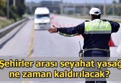 Şehirler arası seyahat yasakları ne zaman kaldırılacak, yollar ne zaman açılacak  Hangi şehirlere seyahat yasağı devam ediyor