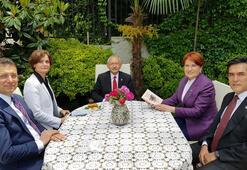 Kılıçdaroğlu ve İmamoğlundan Akşenere bayram ziyareti