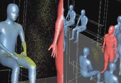 Metroda corana virüs deneyi 7 metrelik alanda herkese bulaşıyor