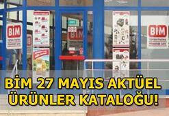 BİM aktüel ürünler kataloğunda yer alan ürünler raflarda satışa çıktı 27 Mayıs BİM aktüel ürünler kataloğu