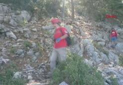 Fethiyede, 14 gündür kayıp olan dağcının cansız bedenine ulaşıldı