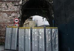 Haliç Surları Cibali Kapısı araç ve yaya geçişine kapatıldı