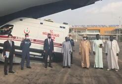 Çada gönderilen tıbbi yardım malzemeleri yetkililere teslim edildi