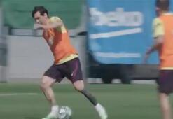 Lionel Messi yeni sezona fazlasıyla hazır...