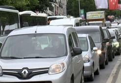 Kısıtlama sonrası İstanbulda toplu ulaşım