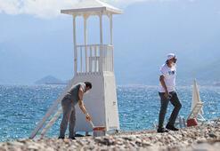 Antalyanın dünyaca ünlü plajında yeni dönem