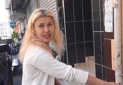 Lüks cipin ev önünde yıkanmasına tepki gösteren kadın öfkesi