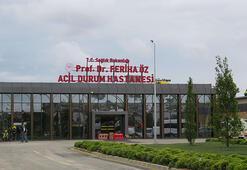 Sancaktepedeki hastaneye Prof. Dr. Feriha Öz Acil Durum Hastanesi yazılı yeni tabela takıldı