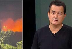 Acun Ilıcalı paylaştı Survivor ekibini korkutan yangın