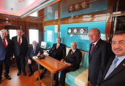 Cumhurbaşkanı Erdoğan ve MHP Genel Başkanı Bahçeli, Demokrasi ve Özgürlükler Adasını gezdi