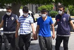 Gazetecilere beni iyi çek diyen hırsızlık şüphelisi tutuklandı