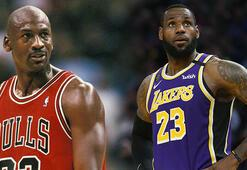 Michael Jordandan sonra LeBron James belgeseli