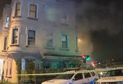 Son dakika... Beşiktaşta restoranda yangın Ekipler oraya koştu