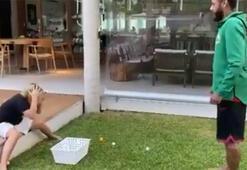 Neymardan oğluna yumurta şakası...