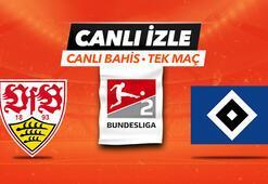 Stuttgart - Hamburg maçı Canlı Bahis ve Tek Maç seçenekleriyle Misli.com'da