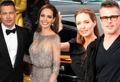 Angelina Jolie ile Brad Pitt arasındaki gerilim bitti
