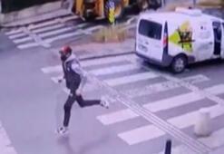 İstanbulda kadının telefonunu çalan kapkaççı polise böyle yakalandı