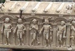 Bursada Troya Savaşını anlatan lahit