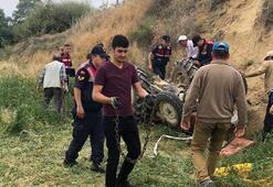 Son dakika... Kullandığı traktör devrildi, 4 yaşındaki kardeşi öldü